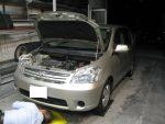 中古車 ラウム オイル交換 レンタカー